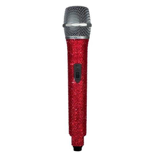 VocoPro Crystal-Studded Wireless Microphone Ruby (UDIAMONDN) by