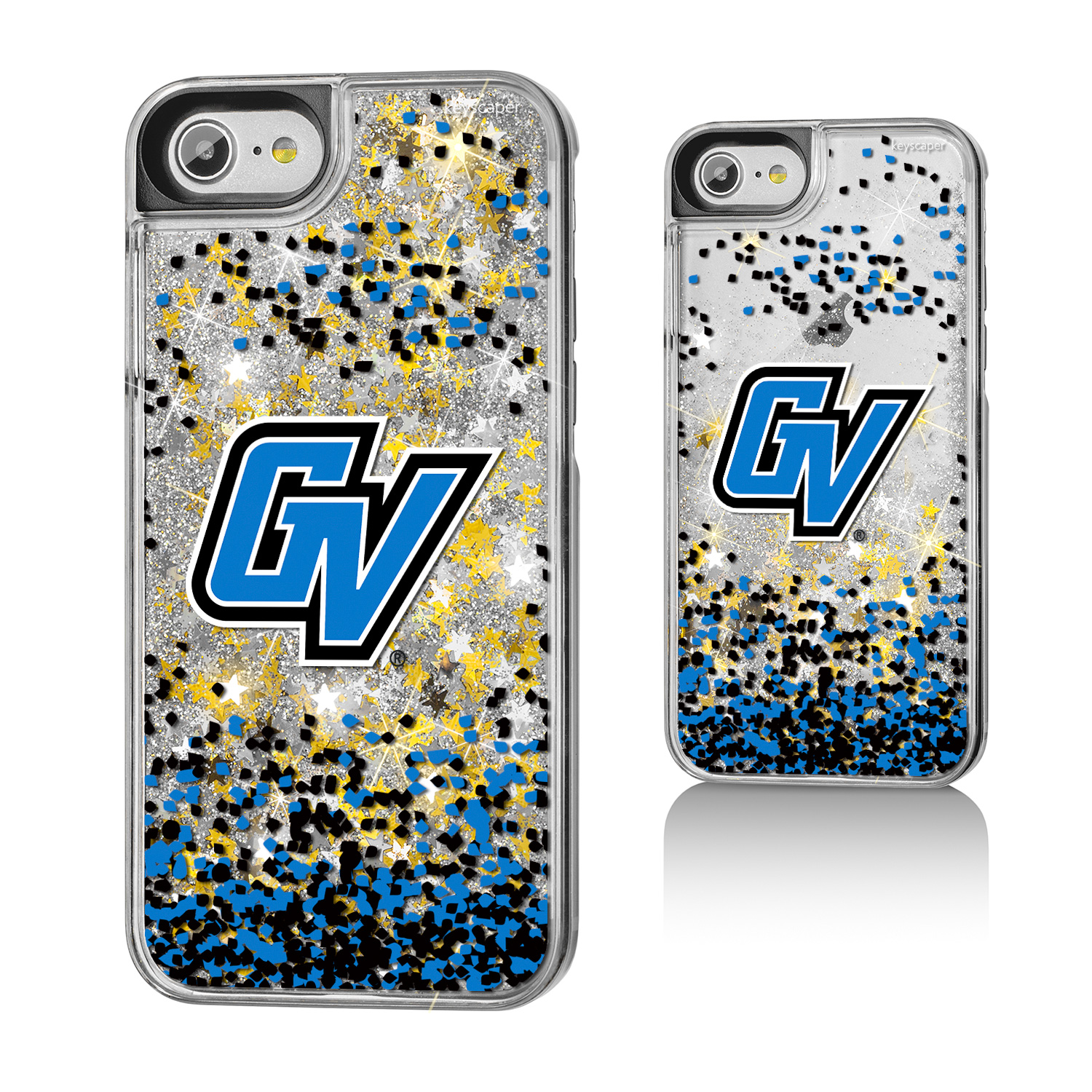 Grand Valley State University Gold Glitter iPhone 7 Case