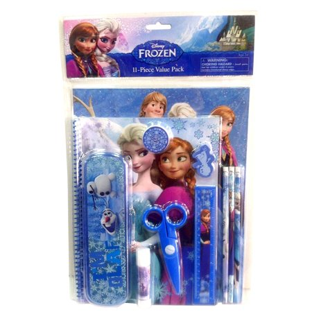 Disney Frozen Stationery Set 11pc Value Pack with Plastic](Stationery Sets)