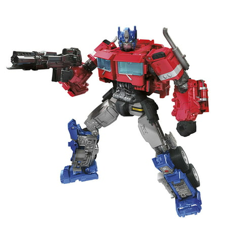 Transformers Toys Studio Series 38 Voyager Class Transformers: Bumblebee Movie Optimus Prime Action Figure - Ages 8 and Up, 6.5-inch - Bumblebee Costume Transforms Into Car