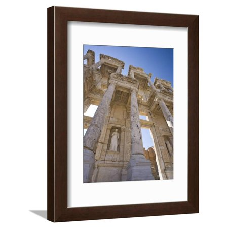 Library of Celsus, Ephesus, Turkey Framed Print Wall Art By Michele Falzone