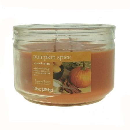 Pumpkin Jar (Langley Home 2 Wick Pumpkin Spice Scented Jar Candle 10 oz )