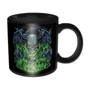 Avenged Sevenfold Deathbat Crest Coffee Mug Death Bat Boxed Mug M. Shadows