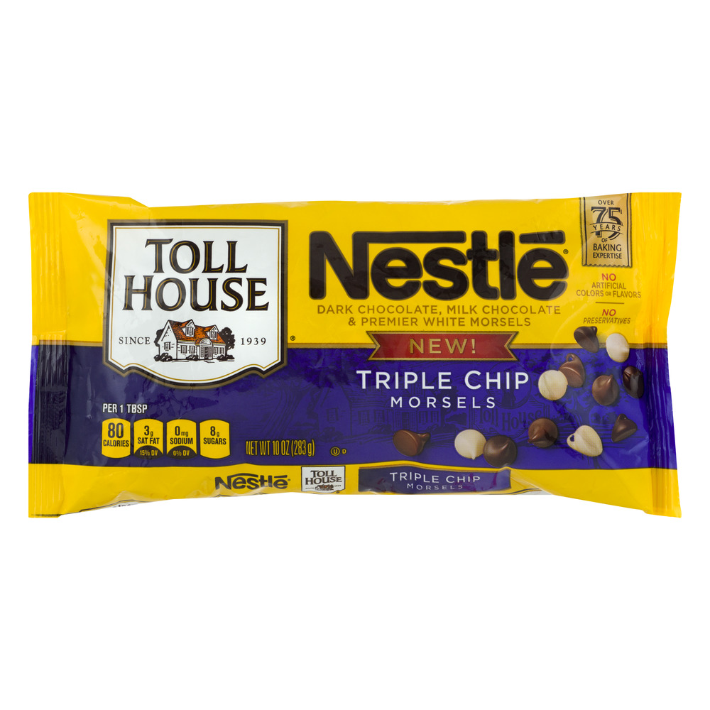 Nestle Toll House Morsels Triple Chip, 10.0 OZ