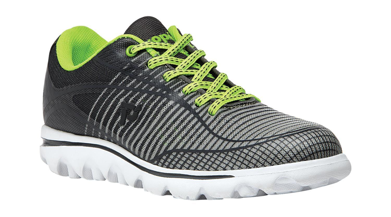 Propet Billie Women's Rejuve Athletic Shoes Grey Lime by Propet