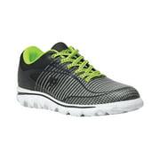 Propet Billie - Women's Rejuve Athletic Shoes - Grey/Lime