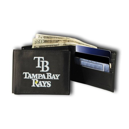 MLB Licensed Embroidered Billfold, Tampa Bay Rays by