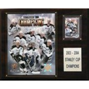 """NHL 12""""x15"""" Tampa Bay Lightning 2004 Stanley Cup Champions Plaque by"""