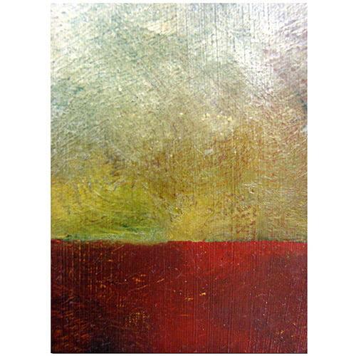 "Trademark Fine Art ""Earth Study I"" Canvas Art by Michelle Calkins"