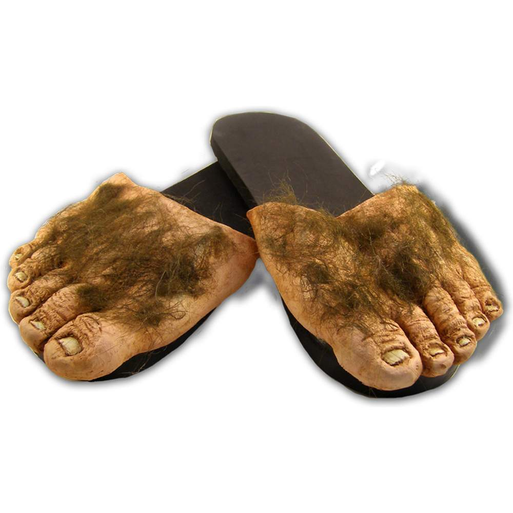 Big Ol' Hairy Costume Feet