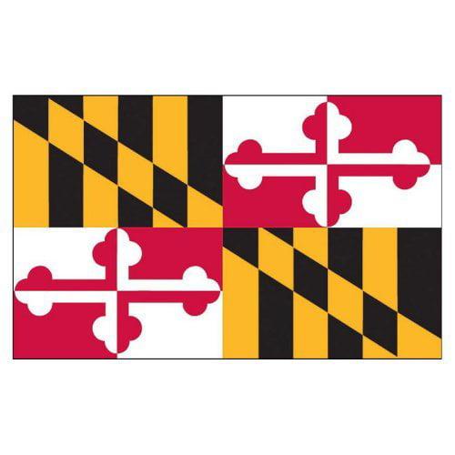 Maryland Flag 3x5ft Nylon