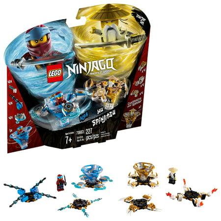LEGO Ninjago Spinjitzu Nya & Wu 70663 (Lego Ninjago Nya Minifigure)