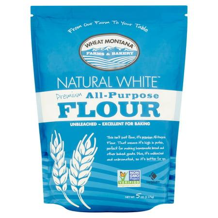 Wheat Montana Natural White All-Purpose Flour, 5 Lb