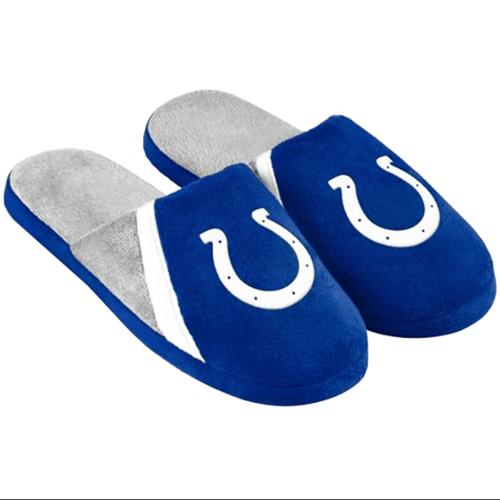 Indianapolis Colts NFL Swoop Logo Slide Slippers