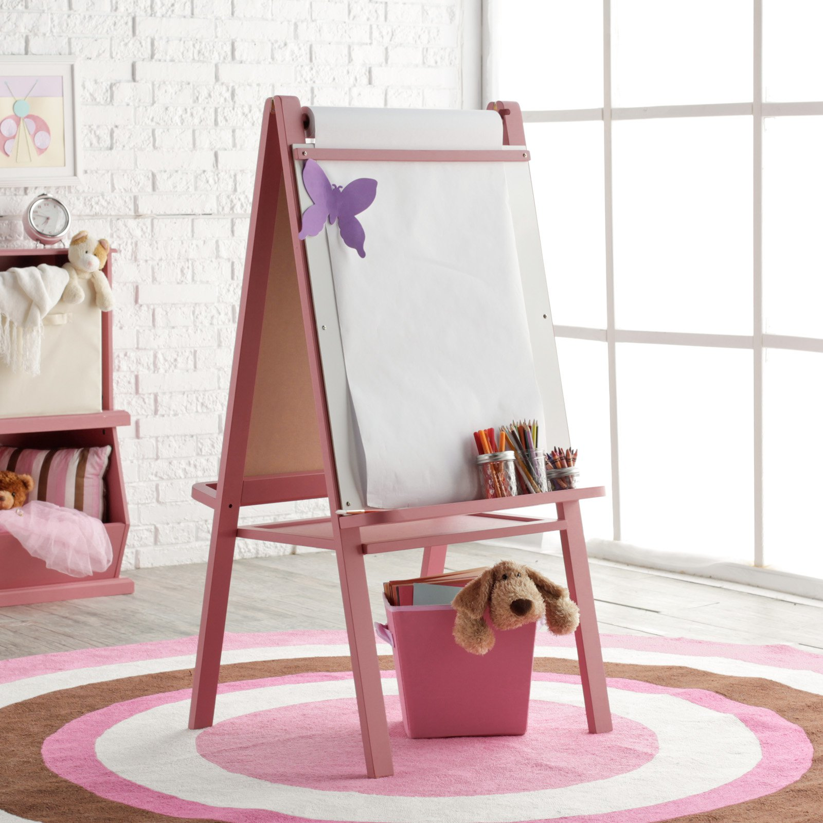 Classic Playtime Junior Easel - Pink Parfait