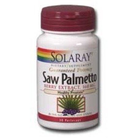 Saw Palmetto Berries (Solaray Saw Palmetto Berry Extract 160 mg - 120 Softgels)
