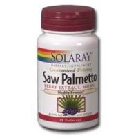 Solaray Saw Palmetto Berry Extract 160 mg - 120 Softgels