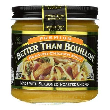 Organic Chicken Base - Better Than Bouillon Organic Seasoned - Chicken Base - pack of 6 - 8 Oz.