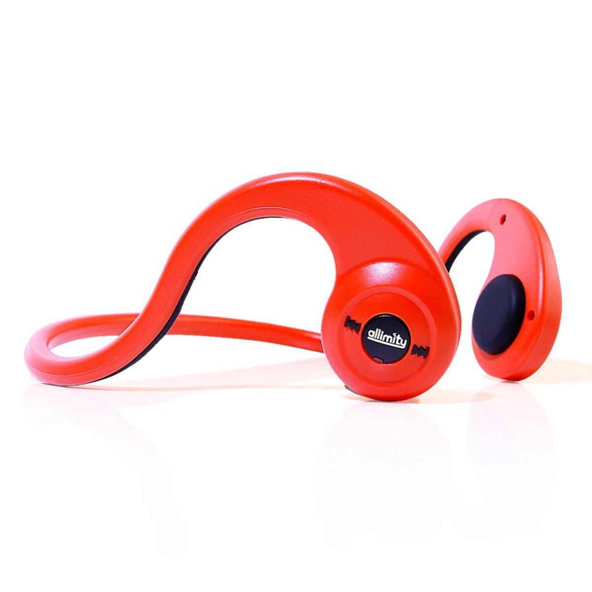 allimity Bluetooth Headphones Wireless Bone Conduction Ov...