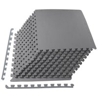 12-PC Everyday Essentials 1/2-in Puzzle Exercise Mat 48 Sqft