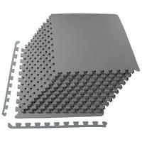 "Everyday Essentials 1/2"" Thick 48 Sq Ft Flooring Puzzle Exercise Mat"