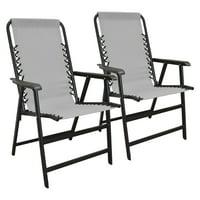 Caravan Global Sports Suspension Beige Folding Chair