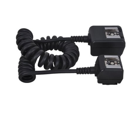 Micnova MQ-M18 Dual Hot Shoe TTL Cord for Pentax Canon Nikon Samsung Fujifilm DSLR Cameras