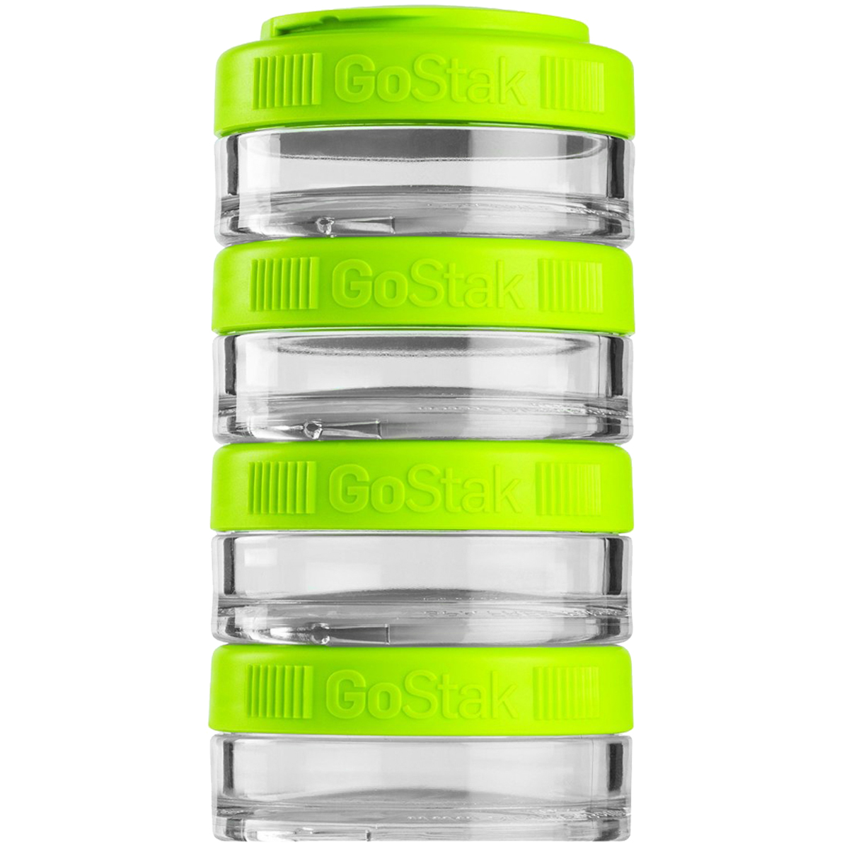 Blender Bottle GoStak 40cc 4Pak Twist n' Lock Storage Jars by Blender Bottle