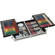 Darice Studio 71 All Media Art Set in Aluminum Case, 126 Pieces