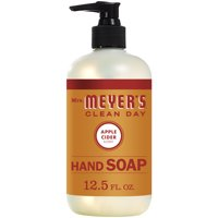 Mrs. Meyer's Clean Day Liquid Hand Soap Bottle, Apple Cider Scent, 12.5 fl oz