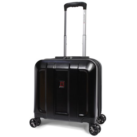 """SwissTech Navigation 14"""" Carry-On Underseater Luggage, 17""""H x 15.5""""W x 10.25""""D, (Walmart Exclusive)"""