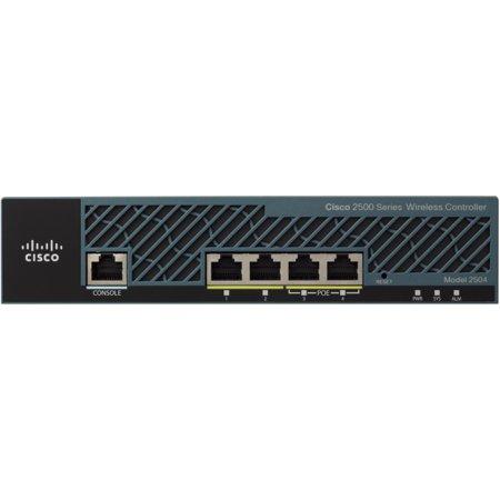 Cisco Air 2504 Wireless Lan Controller   4 X Network  Rj 45    Rack Mountable