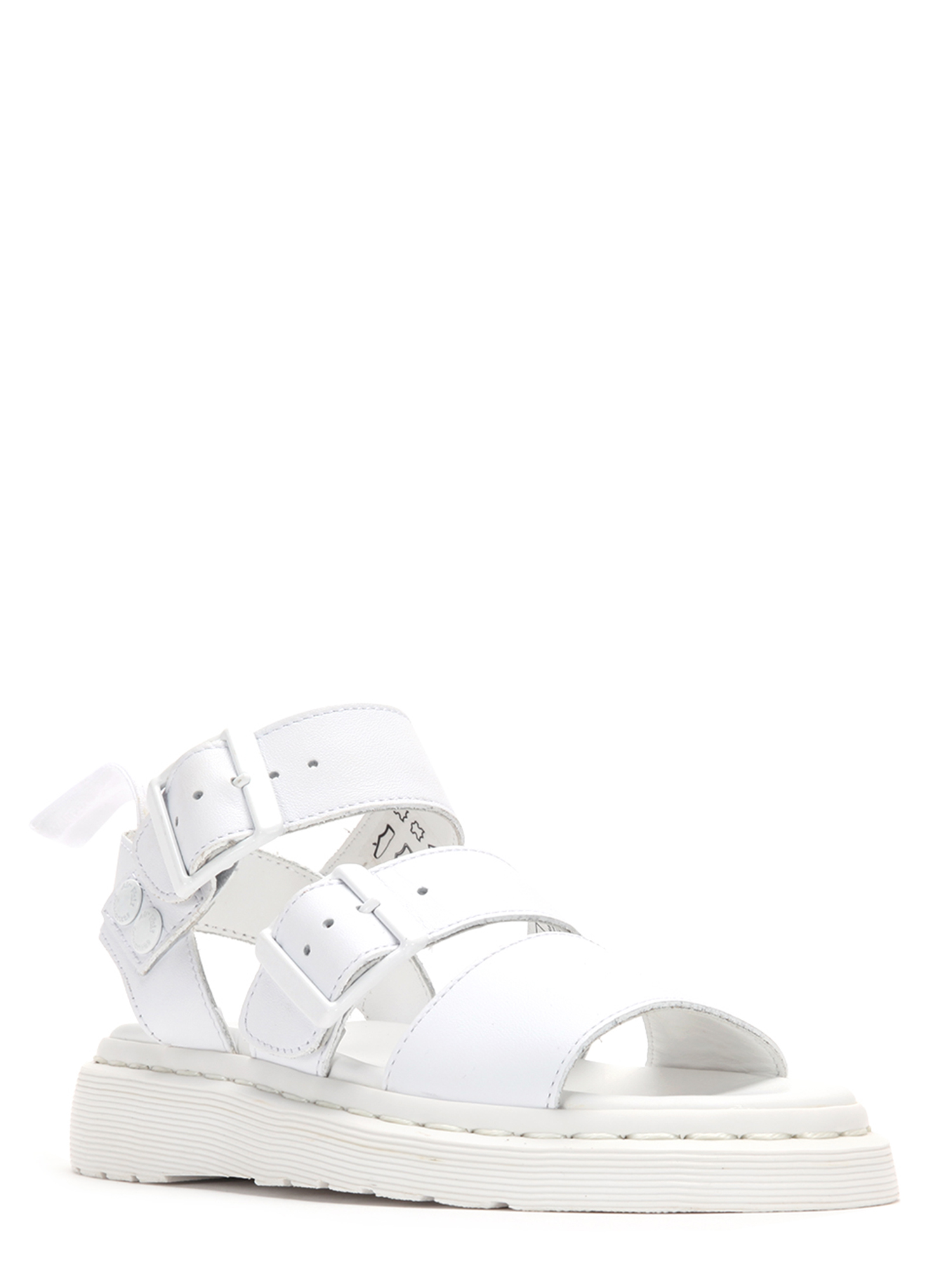 Dr. Martens Gryphon Strap Sandals 16821100 White by
