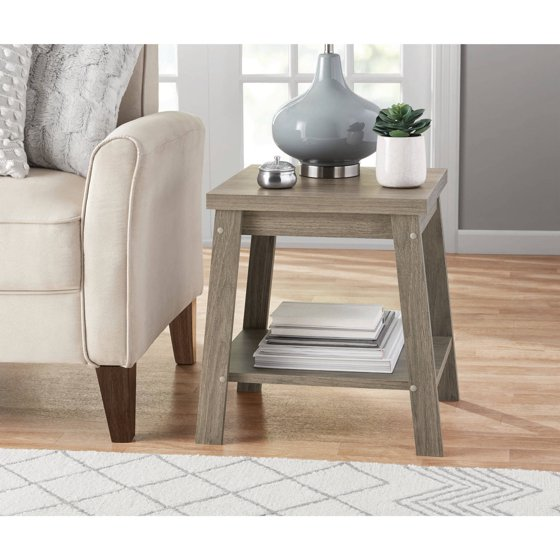 Table Walmart: Mainstays Logan Side Table, Multiple Finishes