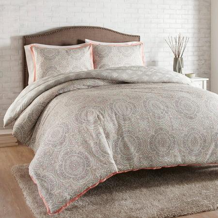 (Better Homes and Gardens 3-Piece Decorative Medallion Comforter Set)