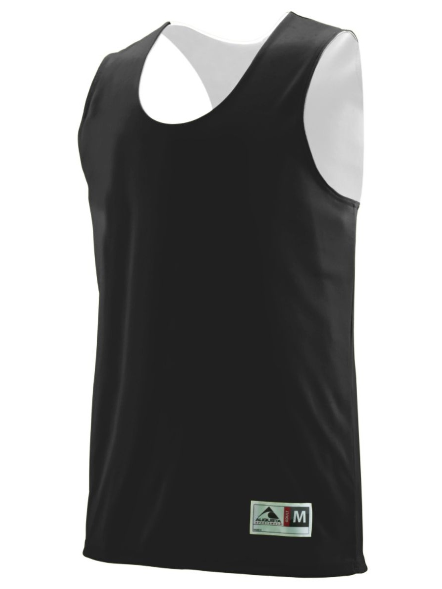 Augusta Sportswear 148 Practice Uniform Jersey Wicking Polyester Reversible Sleeveless Men's