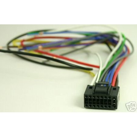 Kenwood Harness KDC-MP342U KDC-MP345U DDX-318 DDX-319 DDX-418 DDX-419 on