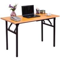 Costway Folding Computer Desk PC Laptop Table