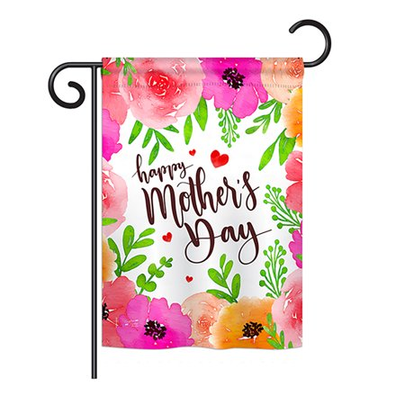 Angeleno Heritage G135053-BO Colorful Happy Mother's Day Summer Impressions Decorative Vertical 13