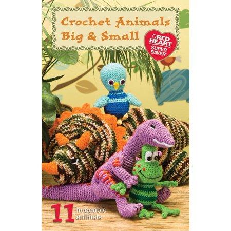 Coats   Clark Books Crochet Animals Big   Small  Super Saver