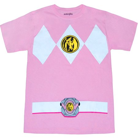 Mighty Morphin Power Rangers Pink Ranger Costume T-Shirt](Army Ranger Shirt)