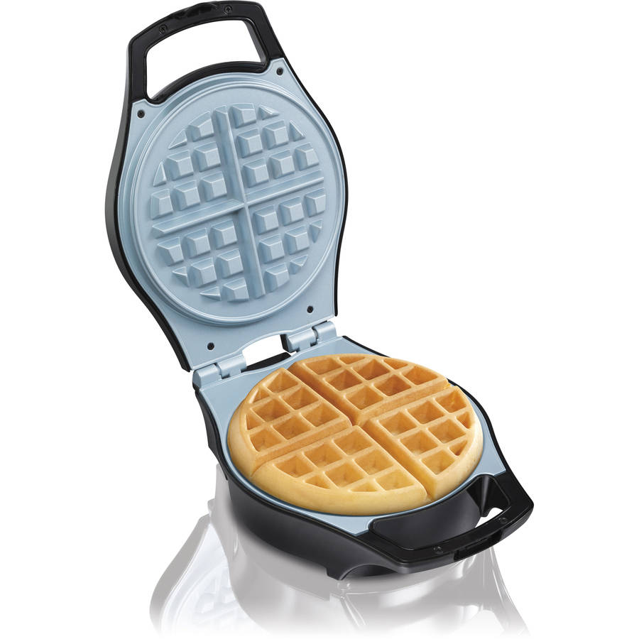 Hamilton Beach Mess-Free Belgian Waffle Maker, Model# 26043