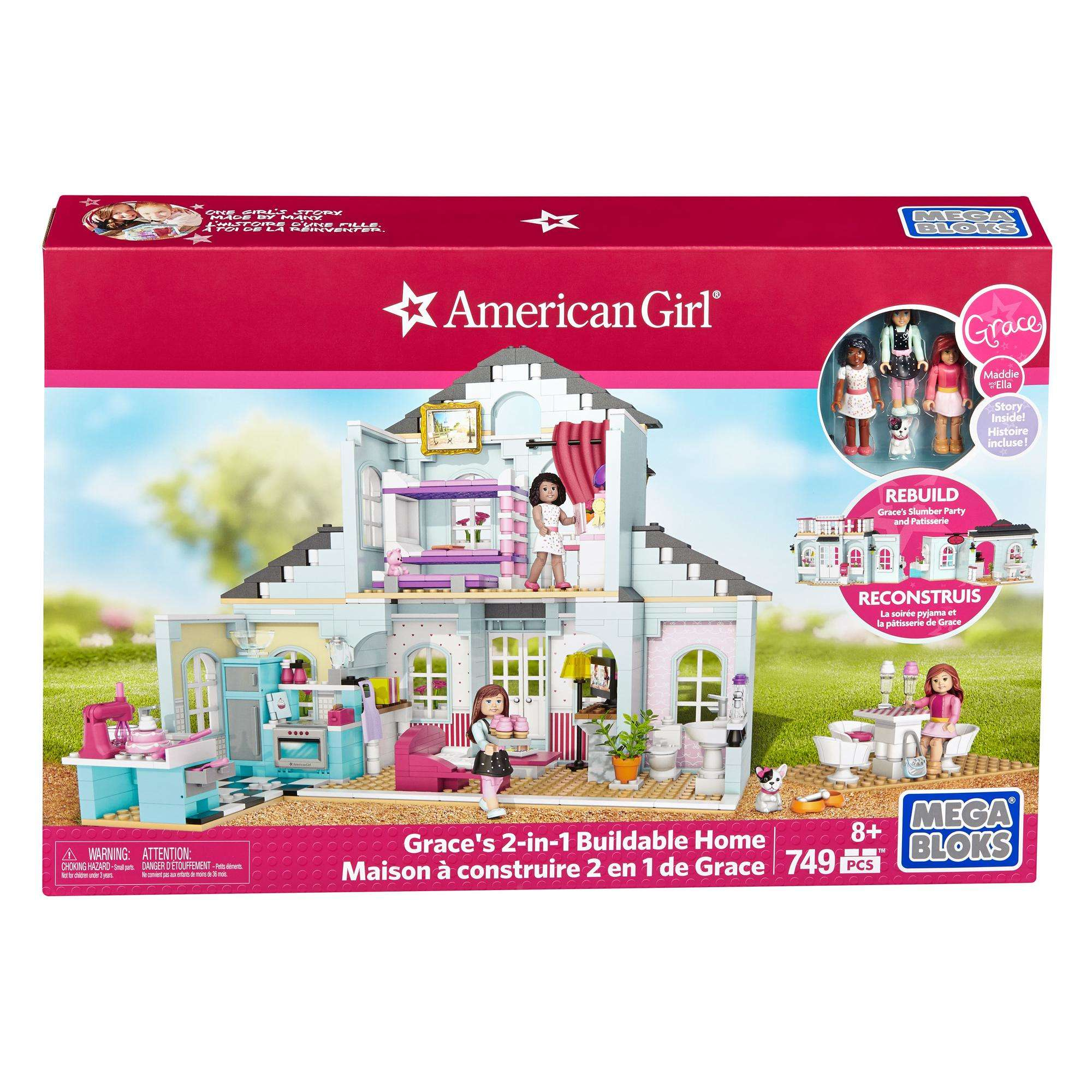 Mega Bloks American Girl Grace's 2-In-1 Buildable Home by MATTEL INC.
