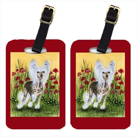 Carolines Treasures SS8185BT Chinese Crested Luggage Tags, Pack - 2 - image 1 de 1