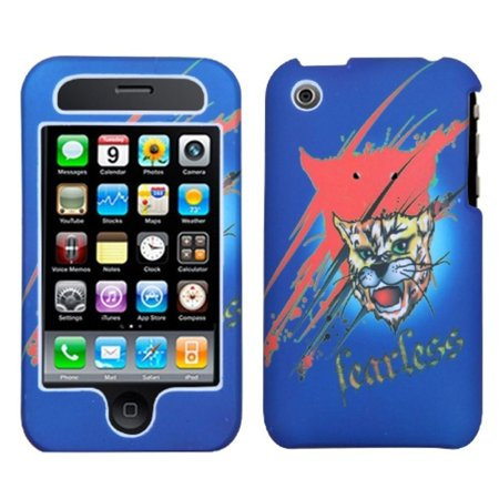 Insten Lizzo Bobcat Blue Phone Case For iPhone 3G/3GS