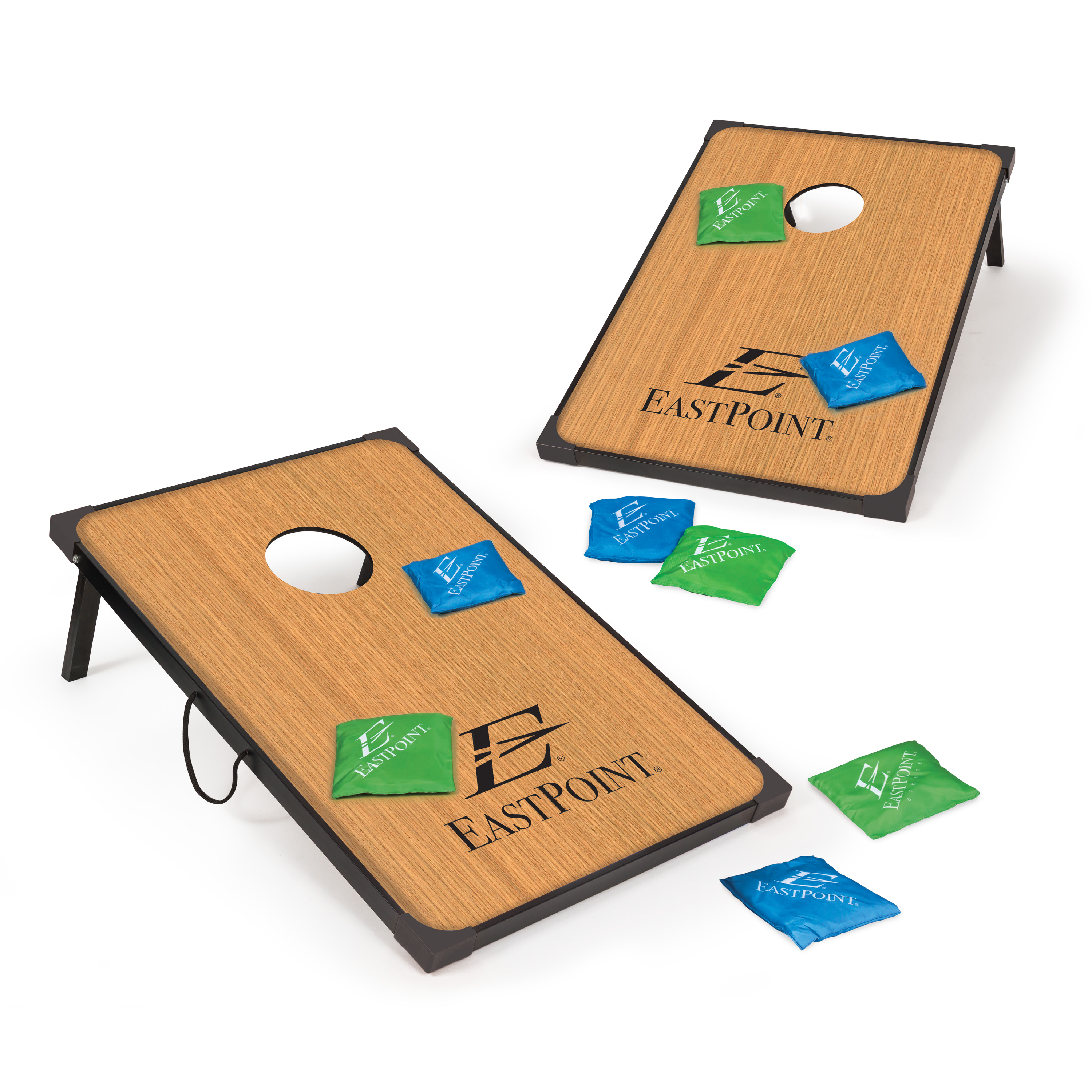 EastPoint Sports Traditional Cornhole Bean Bag Toss Game – 36in x 24in