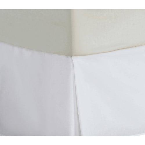 Divatex 200 Thread Count Dust Ruffle, Queen, White
