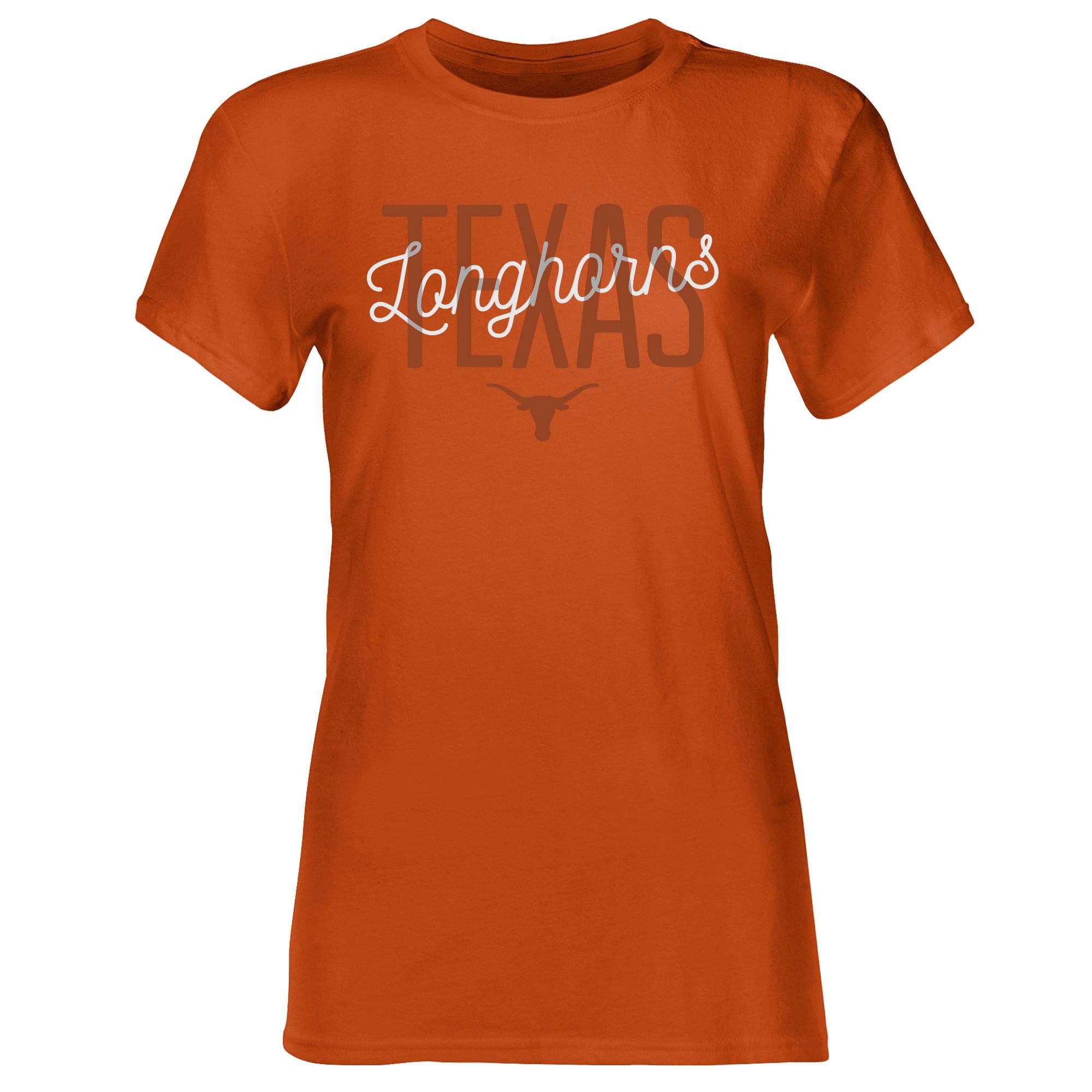 Women's Burnt Texas Orange Texas Longhorns Zarcero Crew Neck T-Shirt