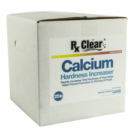 Rx Clear Granular Calcium Hardness Increaser (Plus) For Swimming Pools-25 lbs