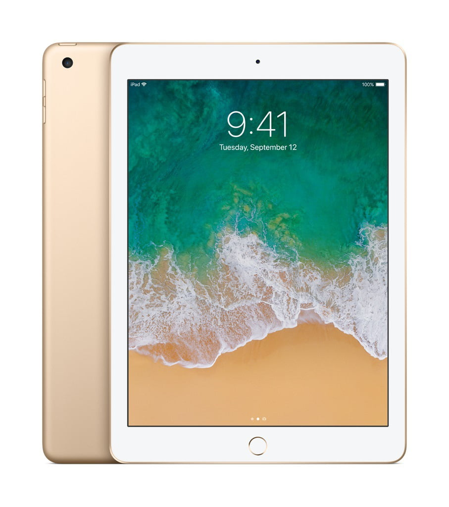 Apple iPad (5th Generation) 32GB Wi-Fi Gold - Walmart.com